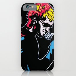Layne Unplugged   Pop Art iPhone Case
