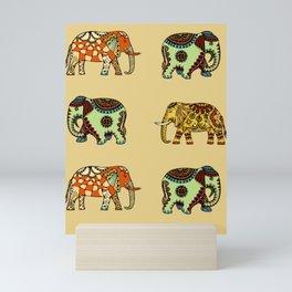 Holy Elephants Mini Art Print