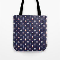 science Tote Bags featuring Science by Wharton