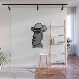 Easter Island style Wall Mural