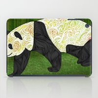 panda iPad Cases featuring Panda by Ben Geiger