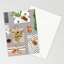 CHRISTMAS GIFT BOX Stationery Cards