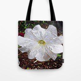 Enchanted Flower Tote Bag