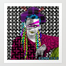 Pantone 10/10 = Boy George Art Print