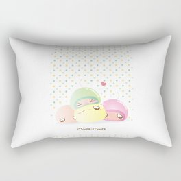 Mochi Mochi! Rectangular Pillow