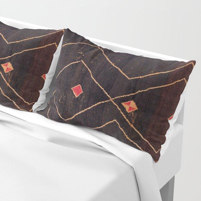 Feiija  Antique South Morocco North African Pile Rug Print Kissenbezug