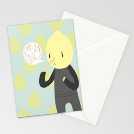 ONLY ONE LEMONGRAB Stationery Cards