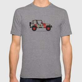 Jurassic Park Jeep T-shirt