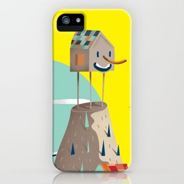 smiling house iPhone Case