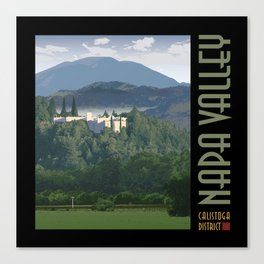 Napa Valley - Sterling Winery, Calistoga District Canvas Print