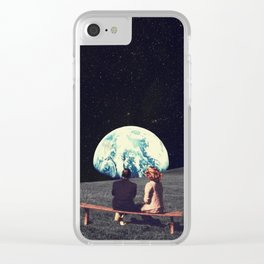 We Used To Live There Clear iPhone Case
