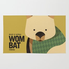 Hello Wombat Rug