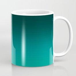 Ombre Turquoise Coffee Mug