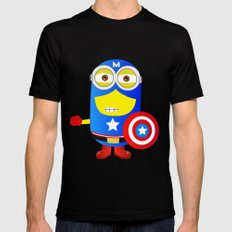 The Winter Soldier  Mens Fitted Tee Black MEDIUM