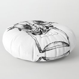 Foral Fragrance Floor Pillow
