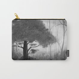 The Dark Forest (B&W) Carry-All Pouch