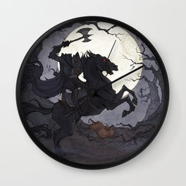 The Headless Horseman Wall Clock