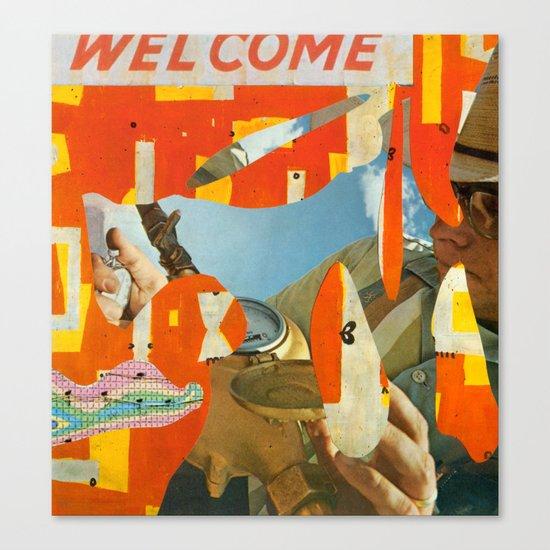 Welcome Surveyor Canvas Print