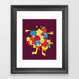 Mental¡FIESTA! Framed Art Print