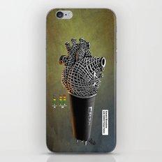 CRZN Dynamic Microphone - 003 iPhone & iPod Skin
