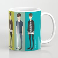 tegan and sara Mugs featuring Tegan and Sara: Sara collection by Cas.