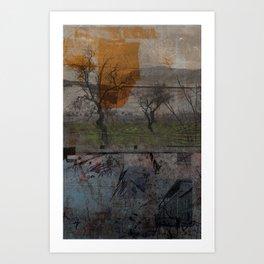 layered 2 Art Print