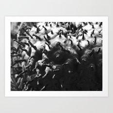 strange fungus 2017 III Art Print