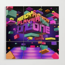 Ready Player One Wood Wall Art