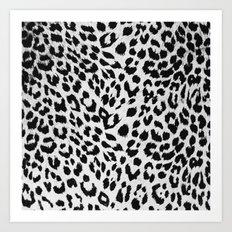 MODERN - PATTERNS - LEOPARD - SKIN - ABSTRACT Art Print