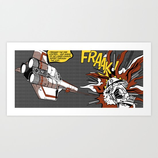 FRAAK! Art Print