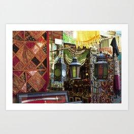 Arabian Lanterns 2! Art Print