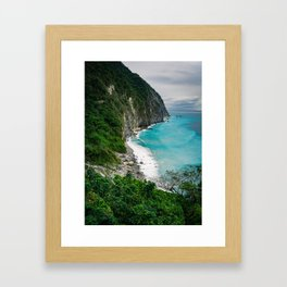 Qingshui Cliffs Framed Art Print