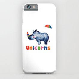 Save the Chubby Unicorns iPhone Case