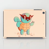 squirtle iPad Cases featuring Squirtle by Daniel Mackey