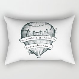 Fly Together Rectangular Pillow