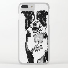 Happy day, happy dog! Clear iPhone Case