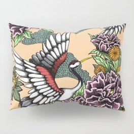 Cranes (Pink) Pillow Sham