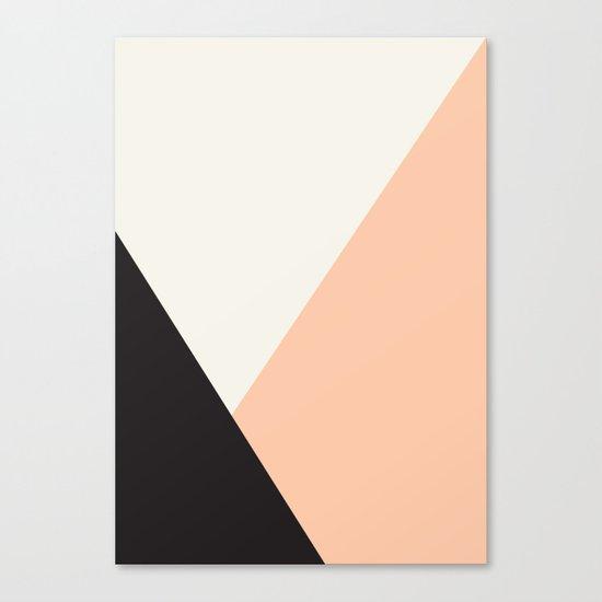Getting Blocky Dark Canvas Print