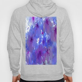 Blue Cherry Blossoms Hoody