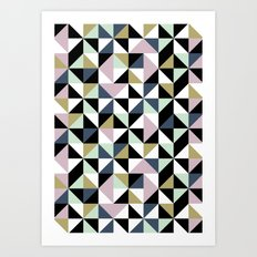 Geometric Pattern 01 Art Print