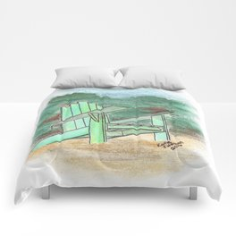 Green Chair - St. Paul Attraction Comforters