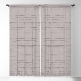 Meteor Stripes - Taupe Blackout Curtain