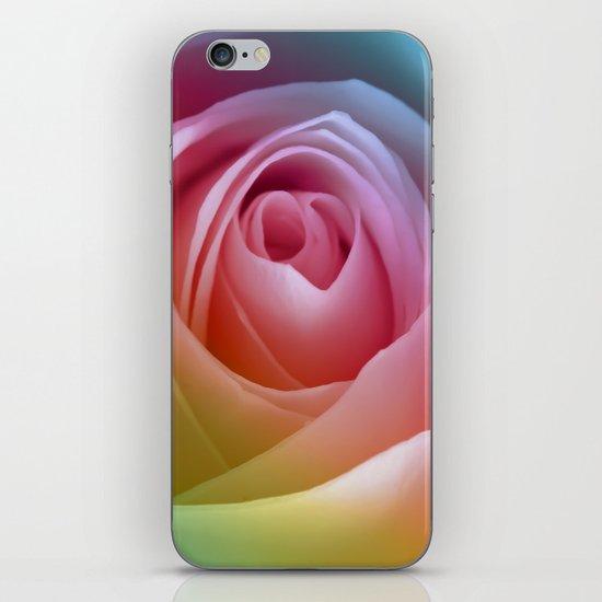 Pastel Rose iPhone & iPod Skin