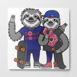 Sloth is life Metal Print