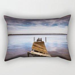 Pier Overlook Rectangular Pillow