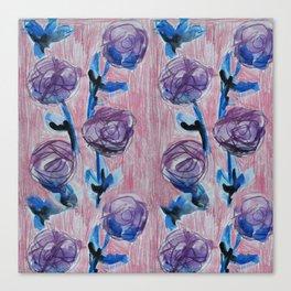 Rose Petals Series Paintings Canvas Print