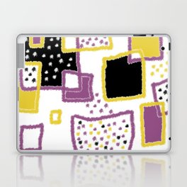 fuzzy rectangles Laptop & iPad Skin