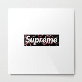 Supreme Snake 2 Metal Print