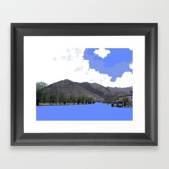 Lots Of Fresh Air Framed Art Print