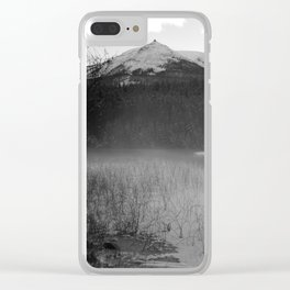 Cabin Lake Clear iPhone Case